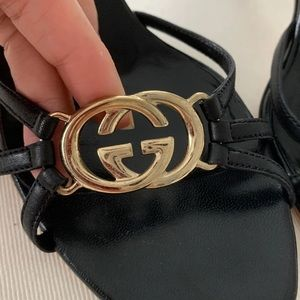 *SOLD ON MERCARI* Authentic Gucci Slides